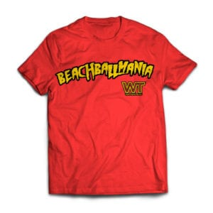 Wrestling Travel: Beachball Mania T-Shirt