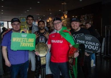Wrestling Travel fans