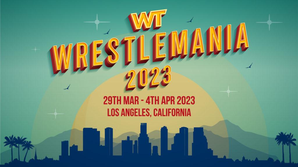 WrestleMania 39 Early Bird Deals Poster